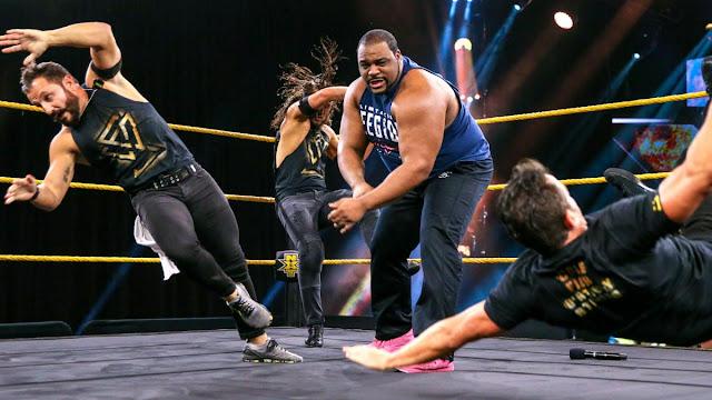 WWE anuncia lesões de Keith Lee e Tony Nese