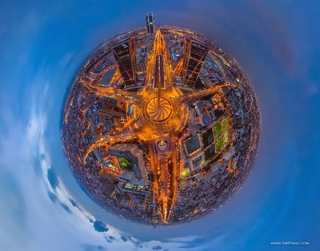 AirPano Planets, fotografías panorámicas 360º, Madrid