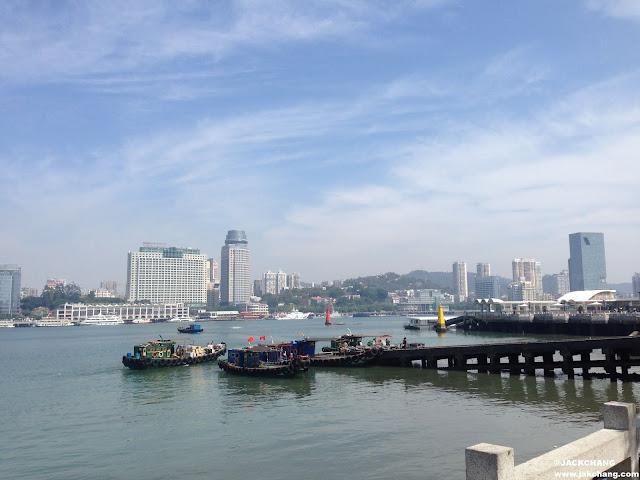 對面是廈門本島