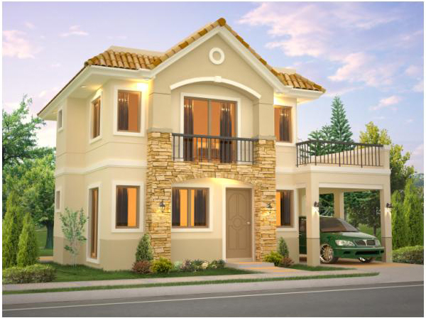 Stupendous Ynez House Model At Mission Hills Antipolo House And Lot For Largest Home Design Picture Inspirations Pitcheantrous