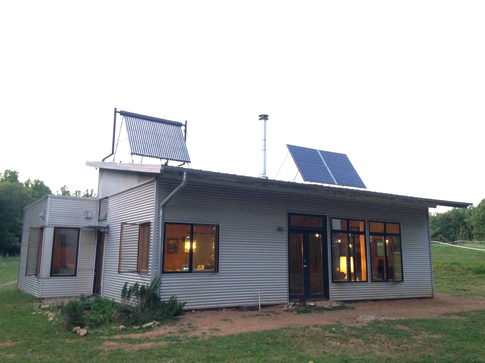 Passive Solar Modern Prefab House Returns To Off Grid