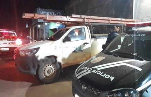 Eletricista é preso bêbado com Hilux a serviço da Energisa