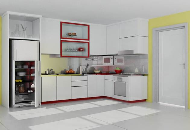 Kitchen Set Surabaya Amanah Kitchen Set Aluminium Composite Panel