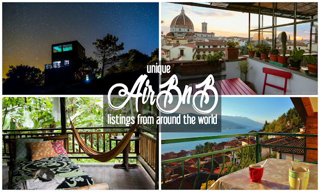 Unique AirBnB Listings from around the World | CosmosMariners.com