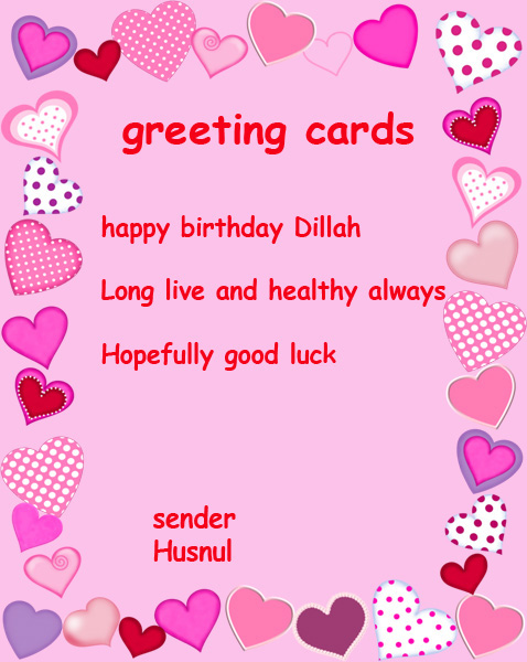 Contoh greeting card waroeng alam m4hsunfo Images