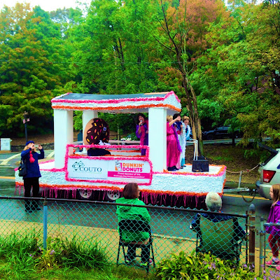 The Dunkin Donuts Float of the Roslindale Day Parade