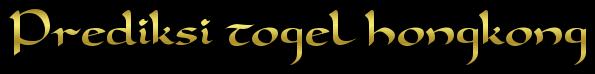 Prediksi Togel Hongkong Hari Minggu