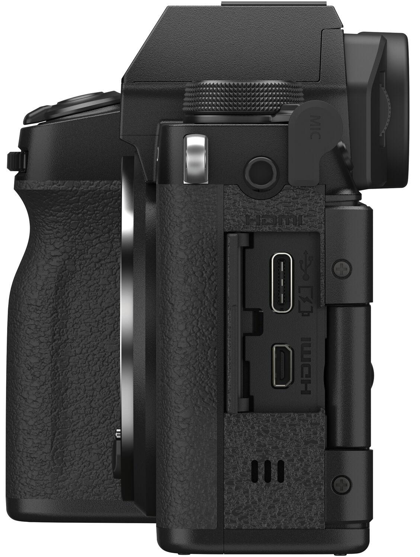 Разъемы Fujifilm X-S10