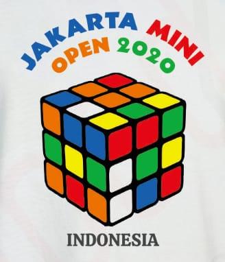 Jakarta Mini Open 2020 poster lomba