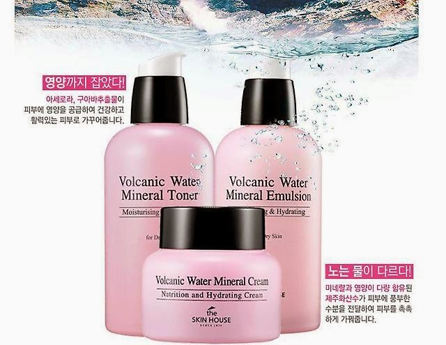 The Skin House Volcanic Water Mineral Set