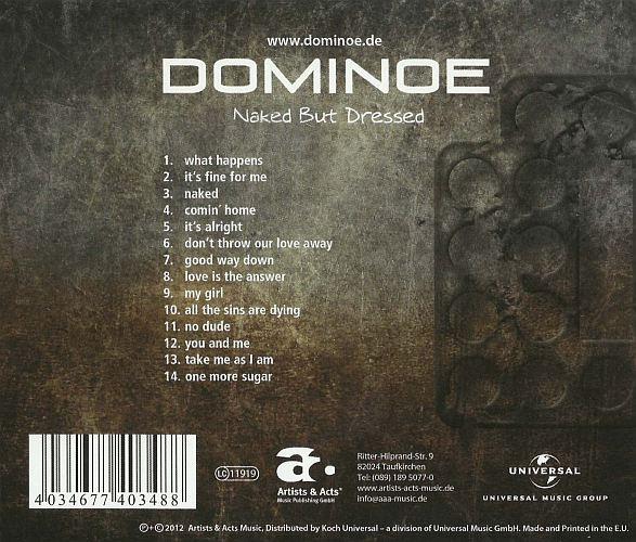 DOMINOE - Naked But Dressed - back