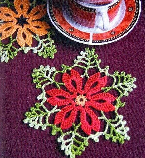 Crochet Coasters - Flower Coasters