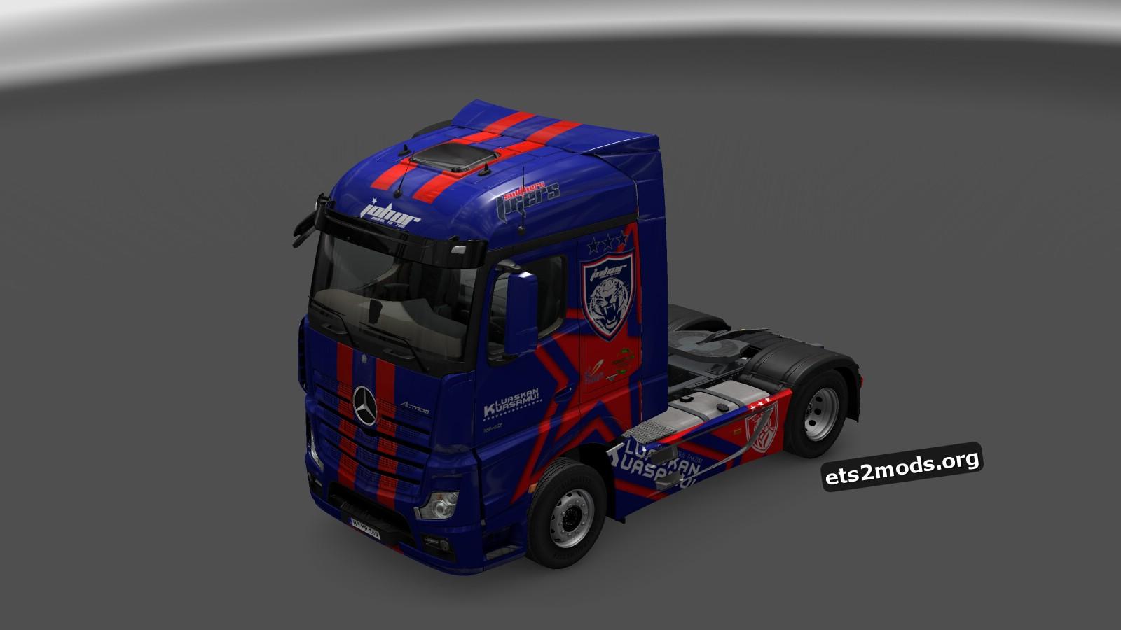 Johor Darul Takzim FC/ JDT Skin for Mercedes MP4