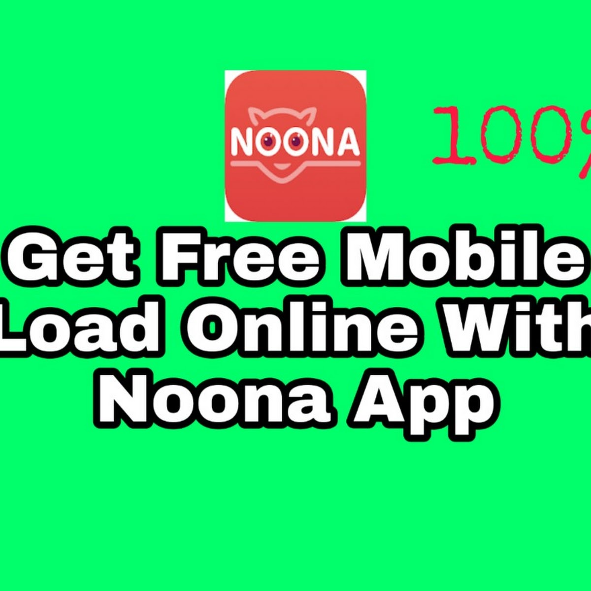 Noona App - How To Get Free Load Online In Philippines