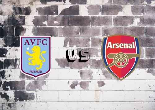 Aston Villa vs Arsenal  Resumen y Partido Completo