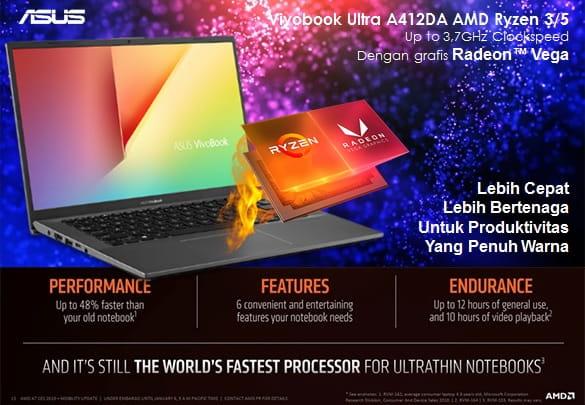 Vivobook 14 Ultra A412DA AMD Ryzen