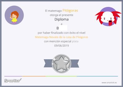 diploma plata smartick