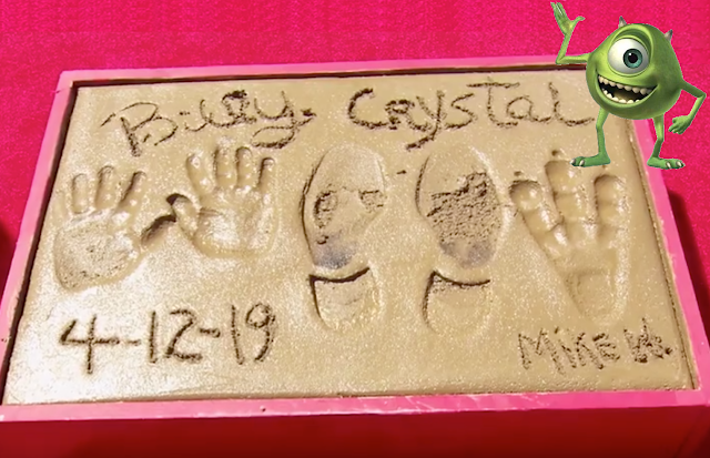 Billy Crystal Chinese Theater Hand Prints