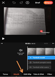 """Viva Video merupakan salah satu aplikasi edit video yang bisa digunakan tanpa perlu mengeluarkan biaya. Dengan menggunakan aplikasi ini kamu dapat membuat video, mengedit, menambahkan musik, teks, dan bahkan membuat video dari kumpulan beberapa foto. Bukan hanya itu saja, kamu bisa mengatur kecepatan video seperti yang diinginkan. Selain itu, viva video sangat mudah digunakan dan dapat di unduh langsung melalui play store di android. Berikut tigaribu.net akan membagi informasi bagaimana cara membuat video dengan aplikasi Viva Video di Android. Cara Membuat Video Dari Gambar Di Aplikasi Viva Video 1. Buka aplikasi Viva Video, lalu klik edit pada bagian kanan atas 2. Klik pada tulisan """"Photo""""  3. Silahkan pilih foto yang akan dijadikan dalam sebuah video. kemudian klik next pada bagian bawah.  Klik Play untuk melihat hasil video Cara Memasukan Teks Dalam Video Pada Aplikasi Viva Video Setelah memilih foto yang dinginkan, kamu bisa juga menambah teks dalam video tersebut caranya yaitu: 1. Pilih Teks & efek pada bagian bawah  2. Silahkan masukan teks sesuai yang diinginkan 3. Kemudian pilih tanda √ 4. Secara otomatis  akan ada teks dalam video yang telah di edit ketika di play. Cara Memasukan Musik ke Video di Aplikasi Viva Video Jika ingin memasukan musik ke dalam video di aplikasi Viva Video maka caranya yaitu : 1. pilih musik pada bagian bawah 2. Pada tampilan diatas terdapat 3 pilihan yaitu tambah musik, tambah pengisi suara dan tambh efek suara. Jika kamu ingin menambah musik yang telah di sediakan oleh aplikasi Viva Video maka pilih Tambah musik. Setelah itu maka akan ada beberapa deretan musik sebagai berikut  3. Aplikasi Viva Video telah menyediakan beberapa musik yang bisa kamu gunakan untuk mengedit video kamu menjadi lebih menarik. Tentukan terlebih dahulu musik mana yang akan kamu gunakan. Setelah itu unduh terlebih dahulu musik tersebut, sebelum kamu masukan dalam video. Caranya klik tanda panah kebawah seperti gambar berikut  4. Jika sudah selesai di unduh"""
