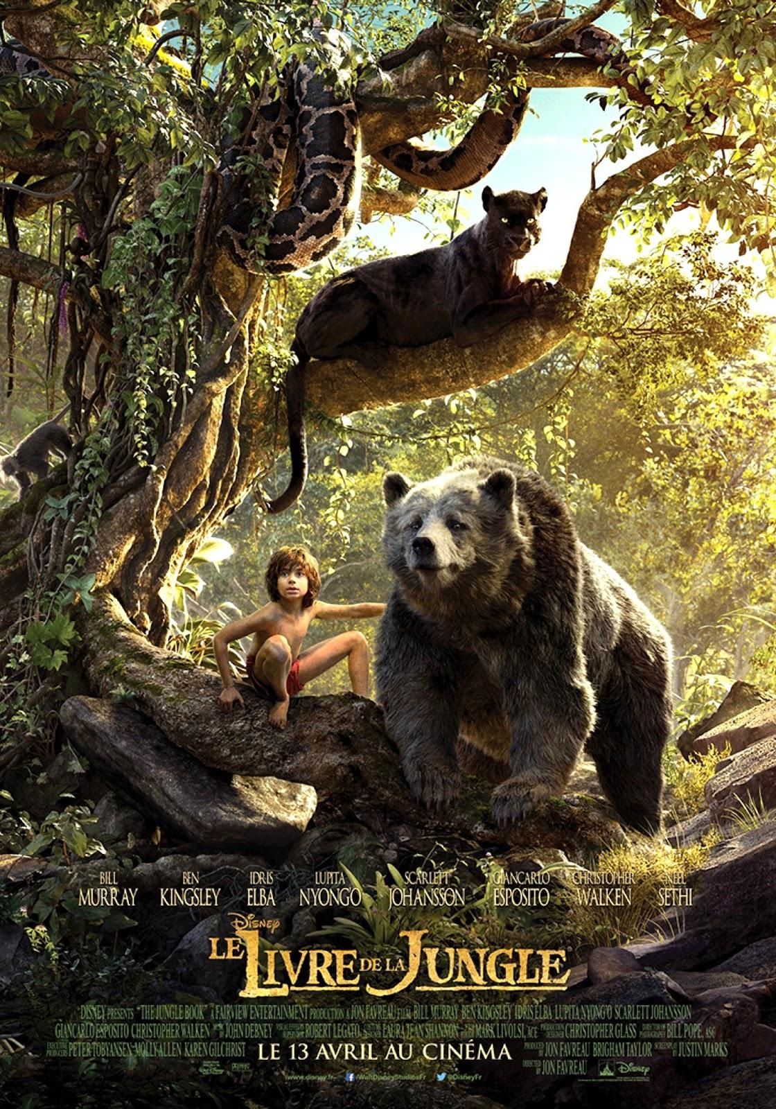 Le Livre De La Jungle Dessin Animé