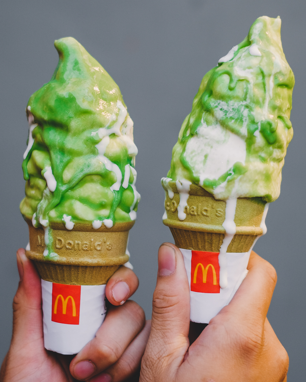 mcdonalds cashier image information matcha ice cream by mcdonald s is here eatandtreats mcdonalds cashier