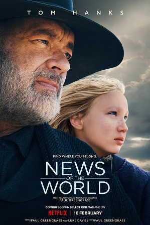 News of the World (2020) 350MB Full Hindi Dual Audio Movie Download 480p Web-DL