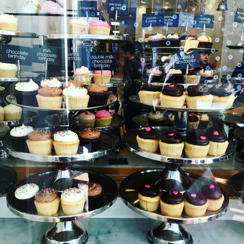 Georgetown Cupcakes window display Boston