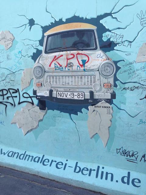 The East Side Gallery - Berlin