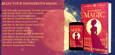 Blog Tour: Dangerous Magic by Monica Fairview