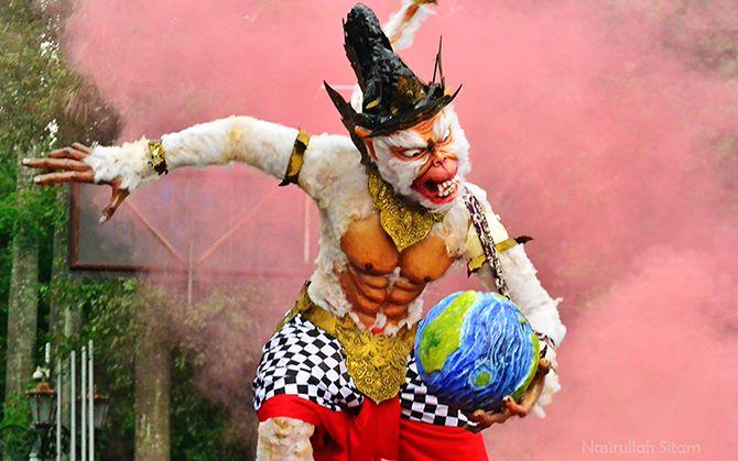 Memotret Festival Ogoh-ogoh di Jalan Malioboro 2017