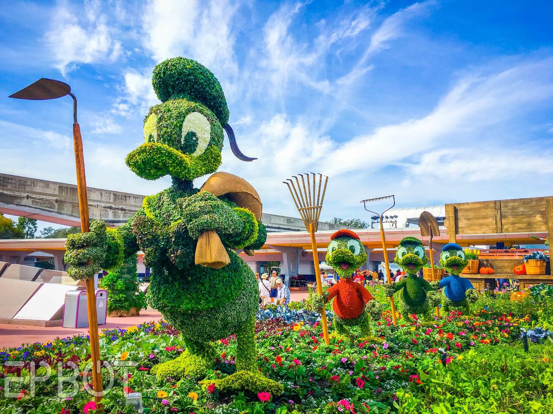 Epbot Epcot 39 S Egg Hunt Flower And Garden Festival 2016