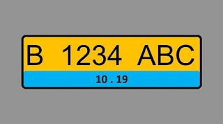 Fix, Plat Nomor Biru Di Kendaraan Listrik
