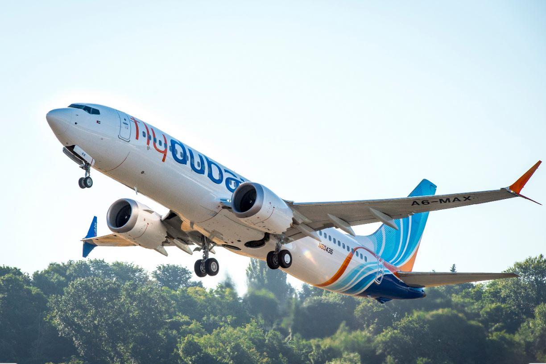 """""""فلاي دبي"""" تعيد طائرة """"737 ماكس"""" لخدمة المسافرين"""