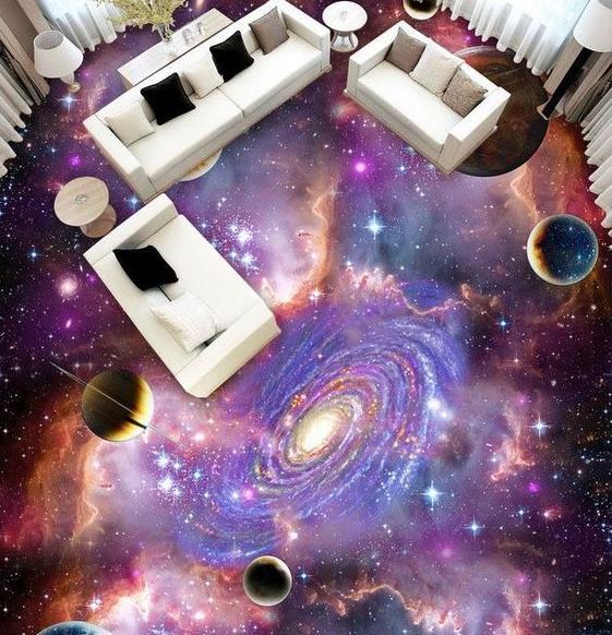 Sàn 3D vũ trụ