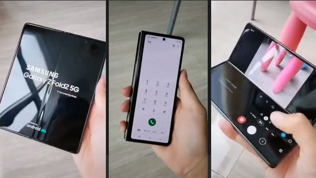 Samsung Galaxy Z Fold 2 new hands-on video leaked - QasimTricks.com