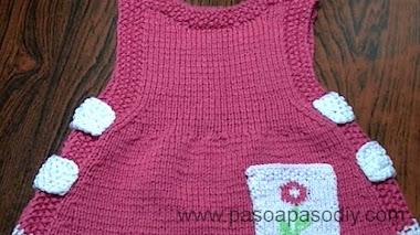 Cómo hacer un vestido de niña  - DIY