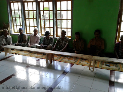Acara rapat tahunan wali murid Mts Miftahussalam