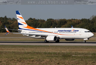 Boeing 737-800 of Smartwings (Travelservice) at Basel-Mulhouse EuroAirport