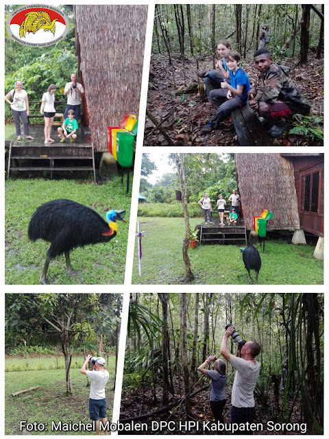 rainforest tour in Malagufuk village of Sorong regency, west papua, Indonesia