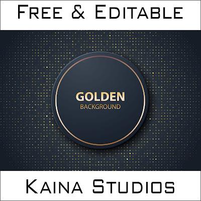 Design Background Golden Circle