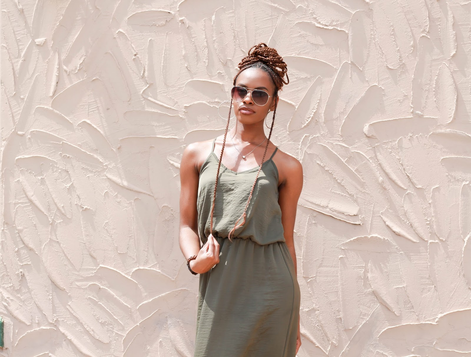 Green Dress, Green Maxi Dress, Army Green Maxi Dress, Army Green Dress