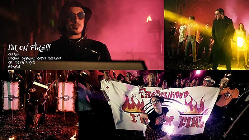 Casabe - ¨I'm on Fire¨ - Videoclip - Dirección: Gabriel Reyes. Portal del Vídeo Clip Cubano
