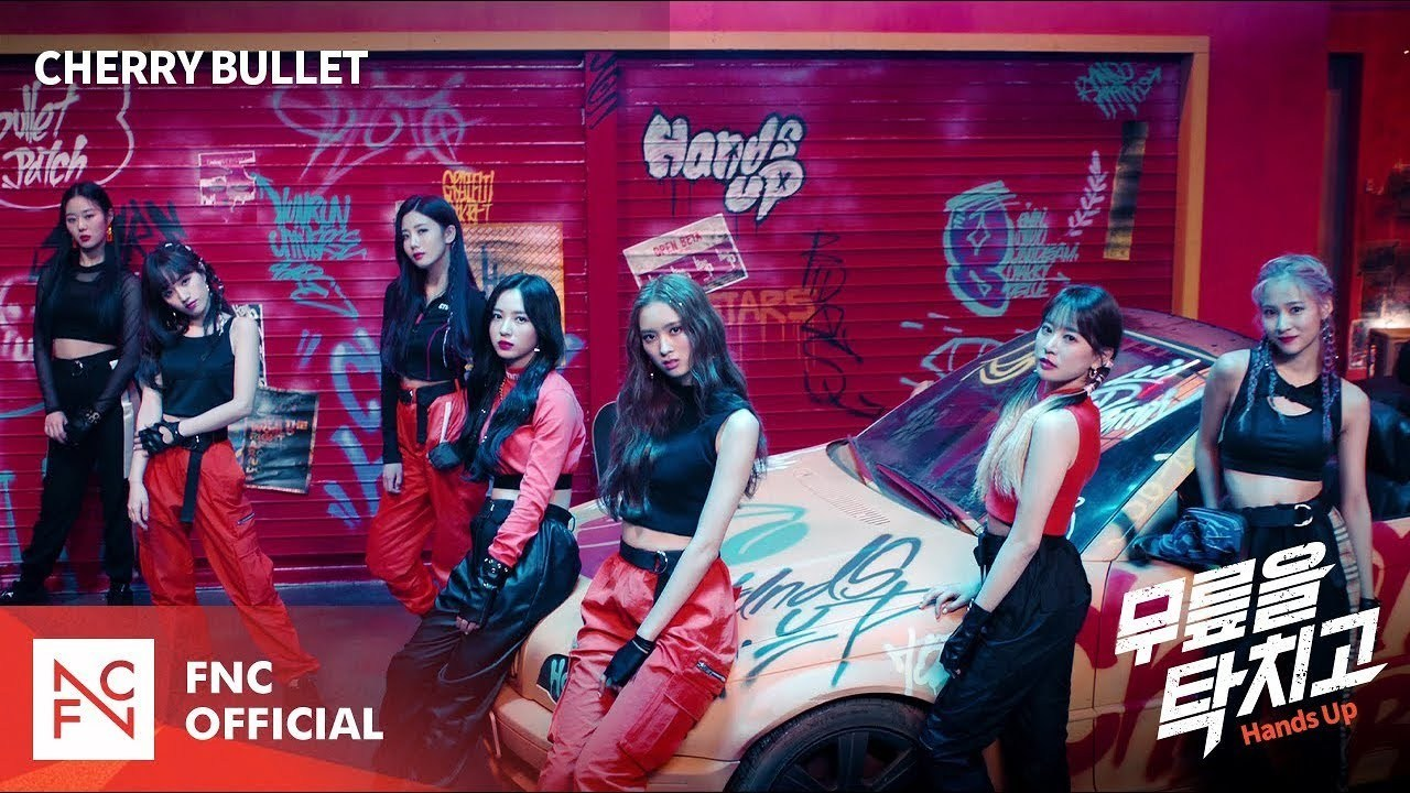 Cherry Bullet Comeback With 7 Members For The First Time Through the MV 'Hands Up'