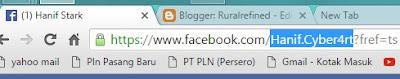 cara mudah mengetahui email fb