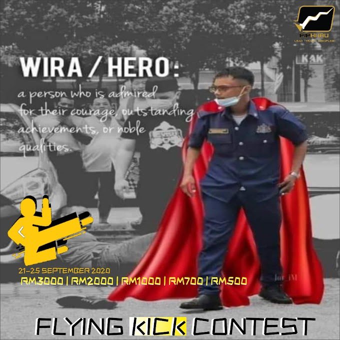 FLYING KICK CONTEST SEPTEMBER 2020
