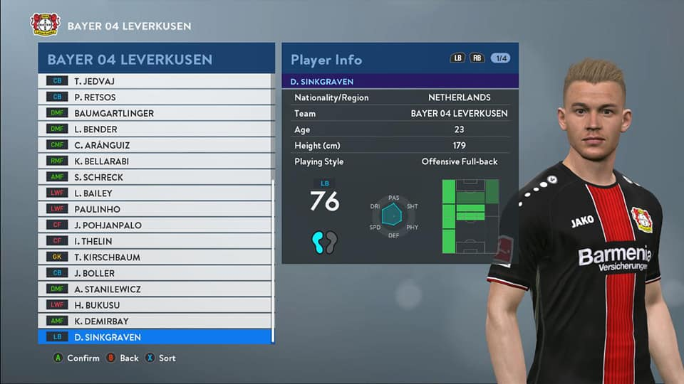 PES 2017 Option File PTE Patch 6 5 3 / 6 5 4 Update 18 June