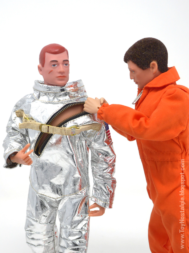 ACTION MAN Astronaut - Silver suit (ACTION MAN ASTRONAUT  HASBRO-PALITOY)