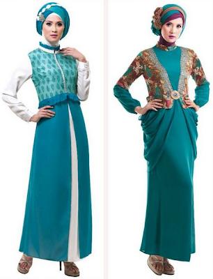 Model Gamis Muslim Untuk Pesta Pernikahan Terbaru