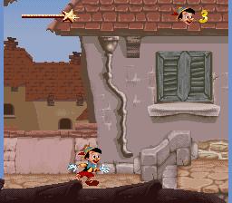 Jogue Rom Pinocchio da Disney online grátis