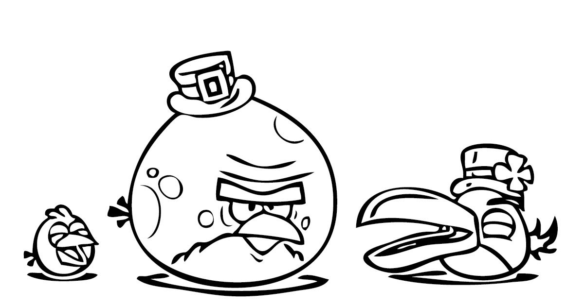 Aninimal Book: Free Angry Birds Space Coloring Pages | Coloring Pages For ...